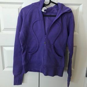 lululemon purple scuba hoodie